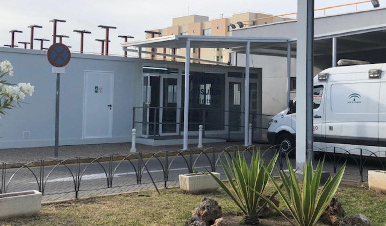 Modulo sala de espera hospital clínico Málaga